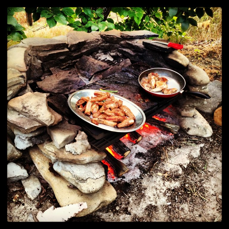 Grilling in Piemonte Italy