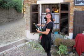 Exploring Piemonte: Champagne Sabering