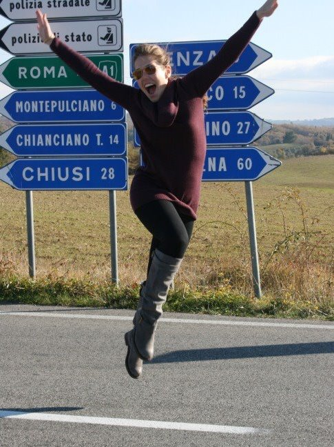 Expats in Italy - Tiana in Florence