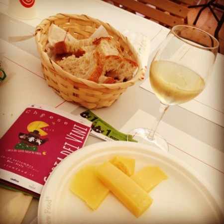 Italy's Big Cheese Festival: Bra Slow Food