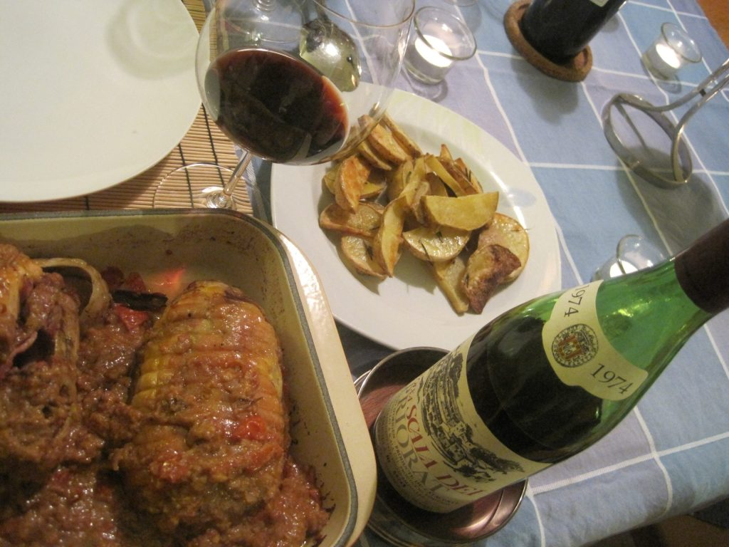 A Priorat Wine Masterpiece: 1974 Scala Dei & Roast Duck