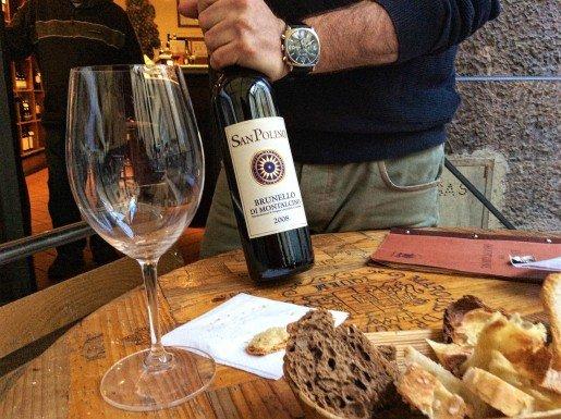 Florence wine tasting Le Volpi e l'Uva