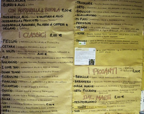 An Insiders Guide To Restaurants in Florence