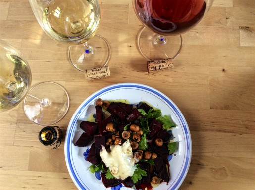 What wine pairs with beets? Let's find out.