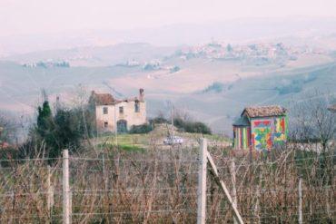 Ceretto Winery Art