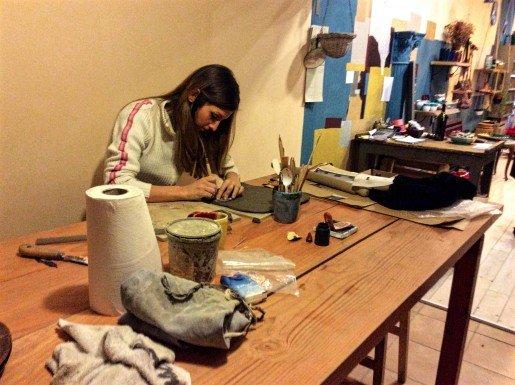 Florence Artisan Workshop, Ceramic Studio, Anita Russo