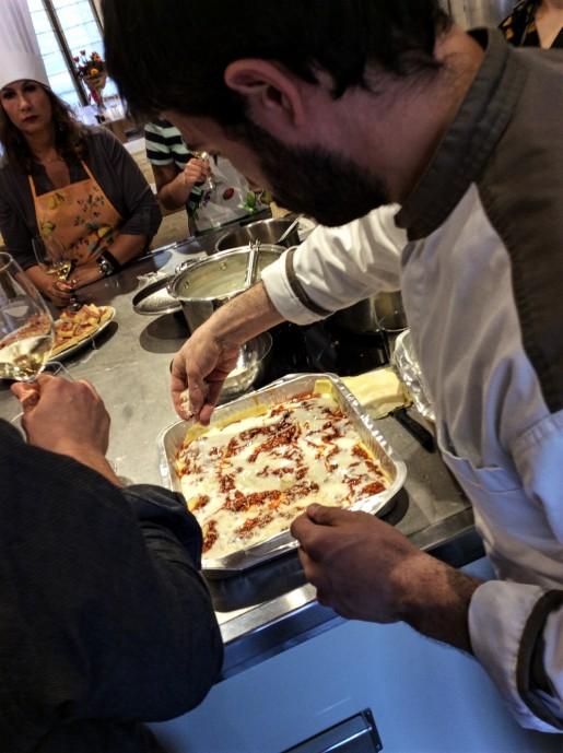 Lasagna Al Forno at MaMa Florence