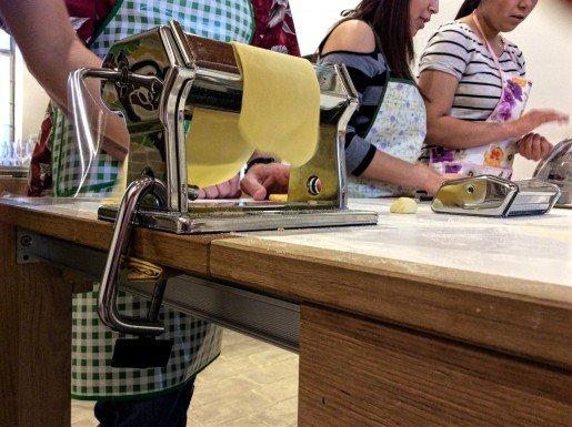 Pasta Class at MaMa Florence