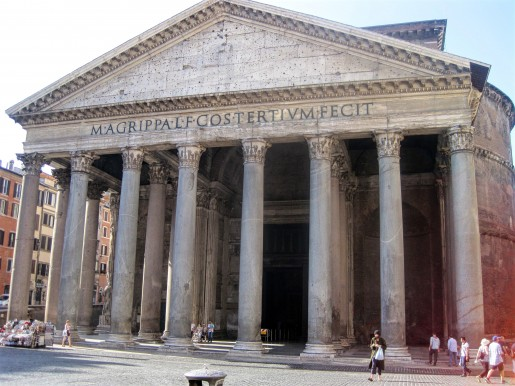 Pantheon Morning Run