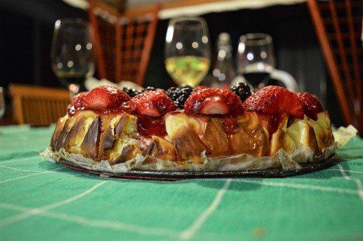 Cheesecake Roman Feast