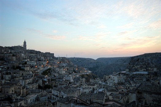 Sassi d Matera sunrise