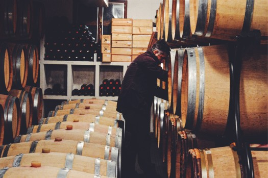 Carnasciale barrel tasting