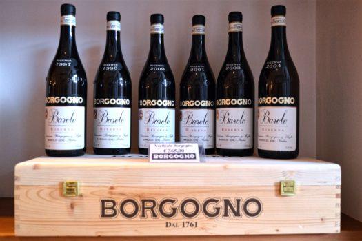 Wine Tasting in Barolo Borgogno