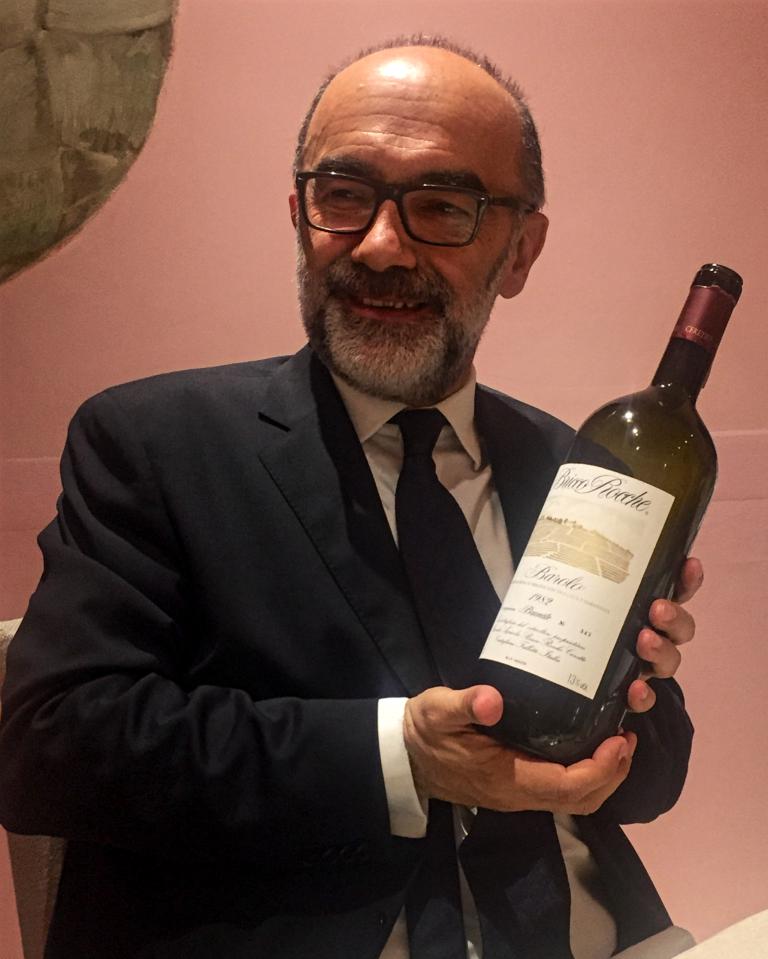 1982 Ceretto Barolo Bricco Rocche