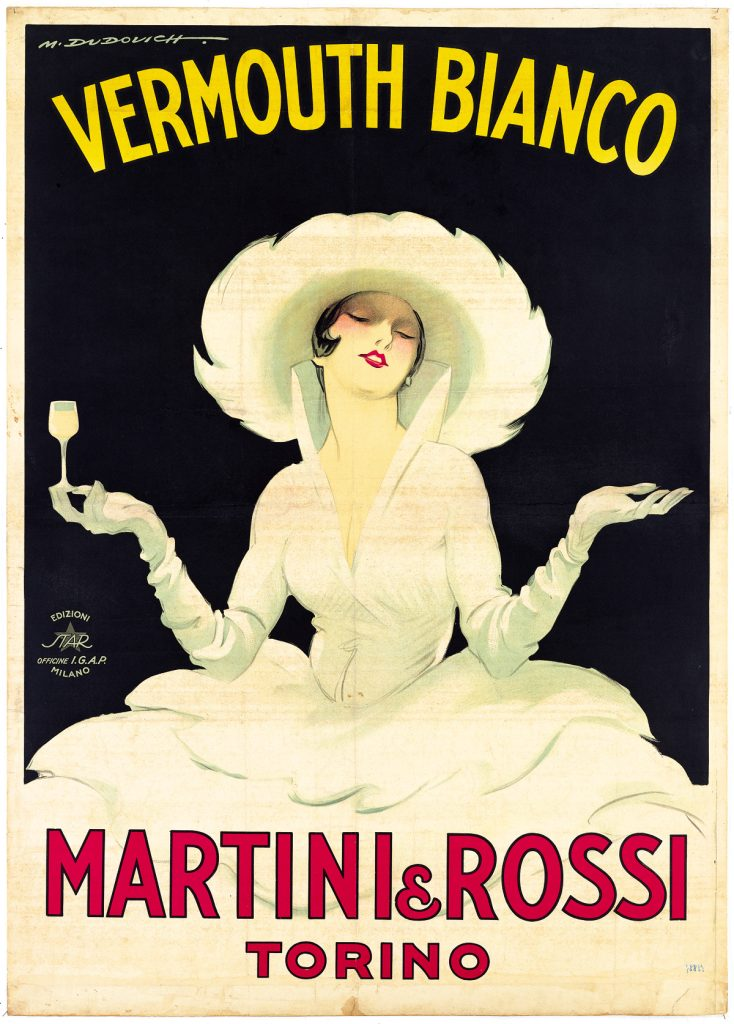 Martini and Rossi White Lady