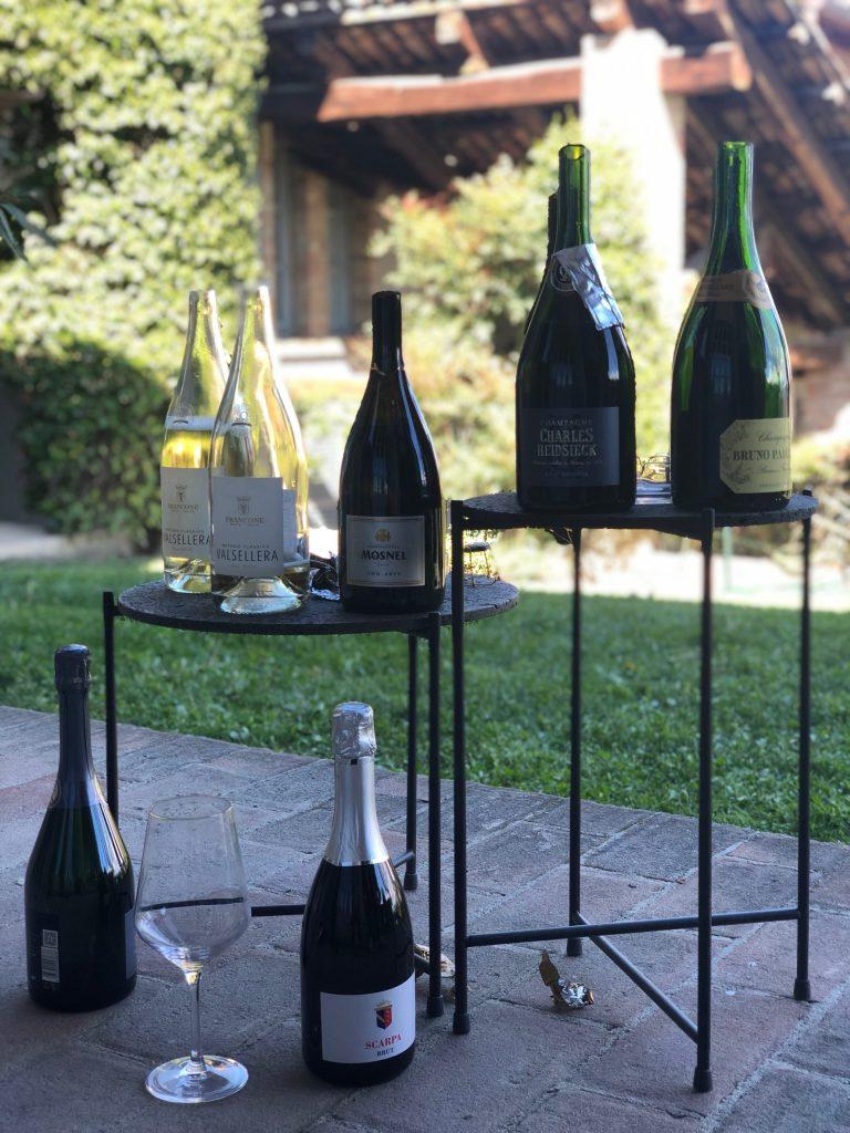 saber sparkling wine