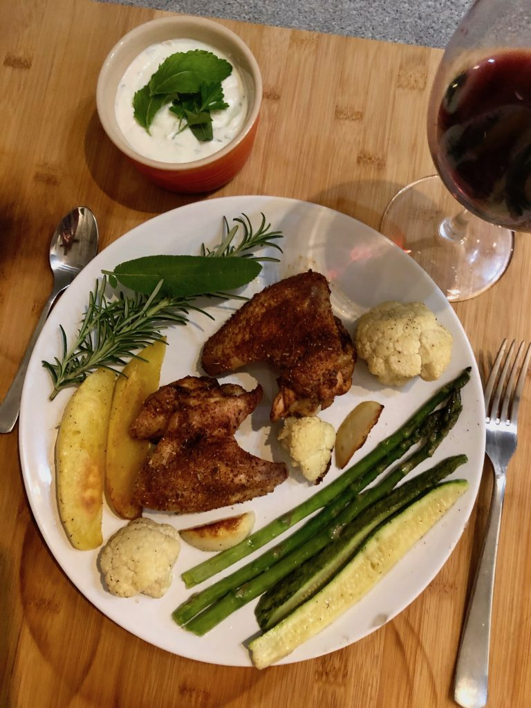 what wine pairs with chicken wings