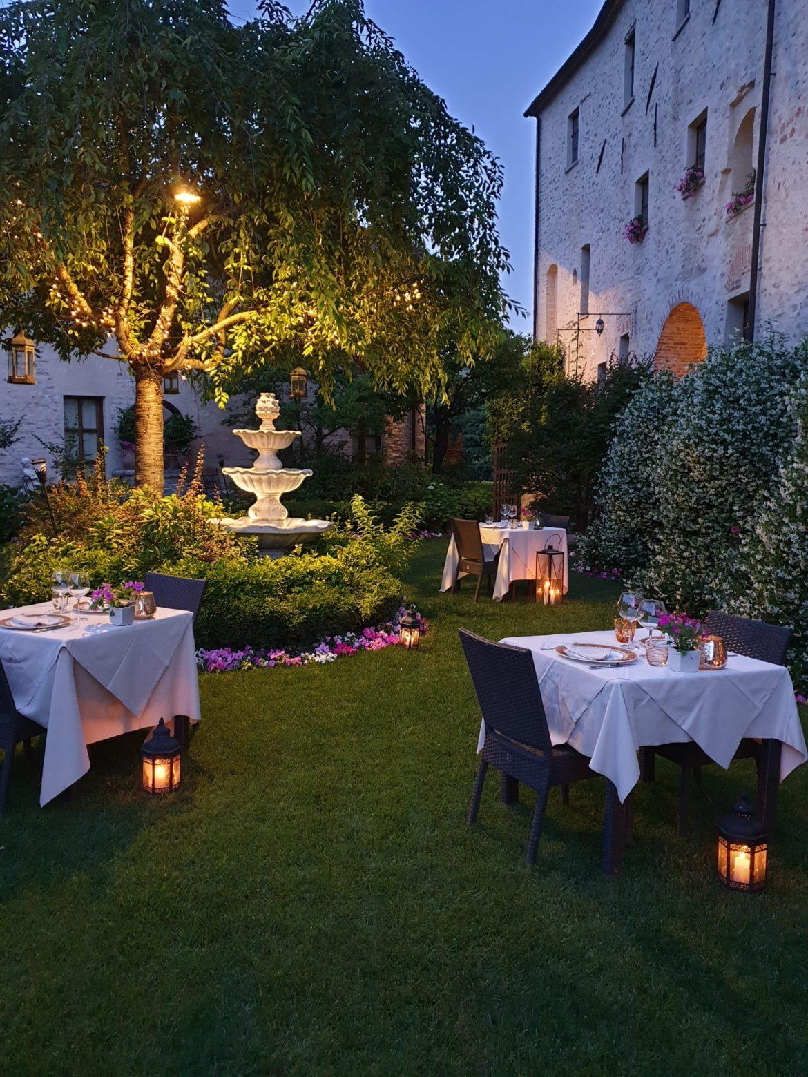 ristorante hotel castello di sinio